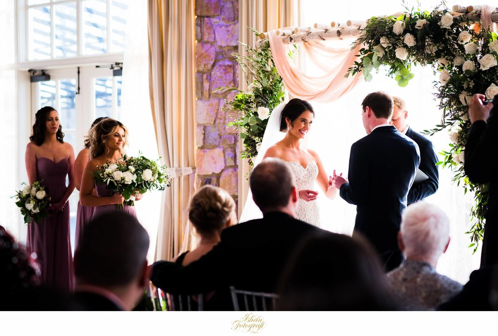 indoor-wedding-ceremony-fiddler's-elbow-country-club-new-jersey