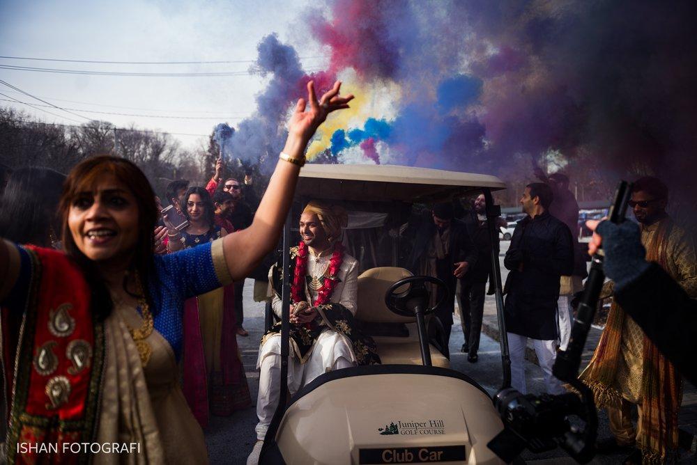 indian-wedding-baraat-photos-leonard's-palazzo