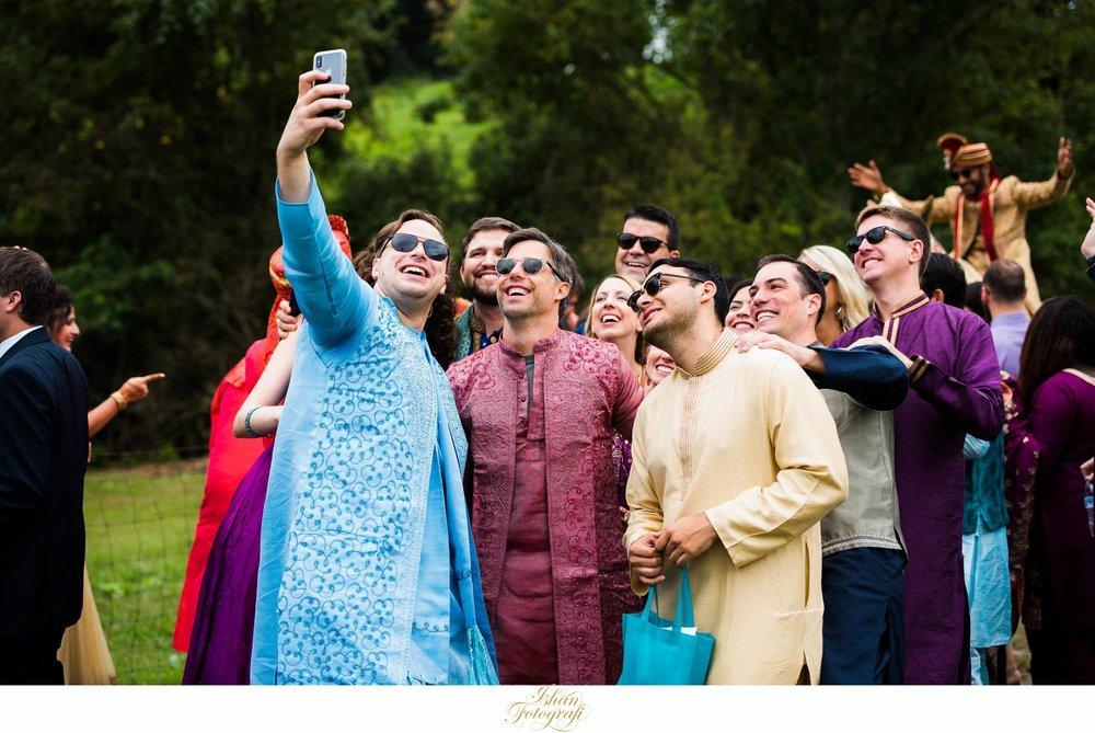 indian-wedding-baraat-claxton-farm-NC