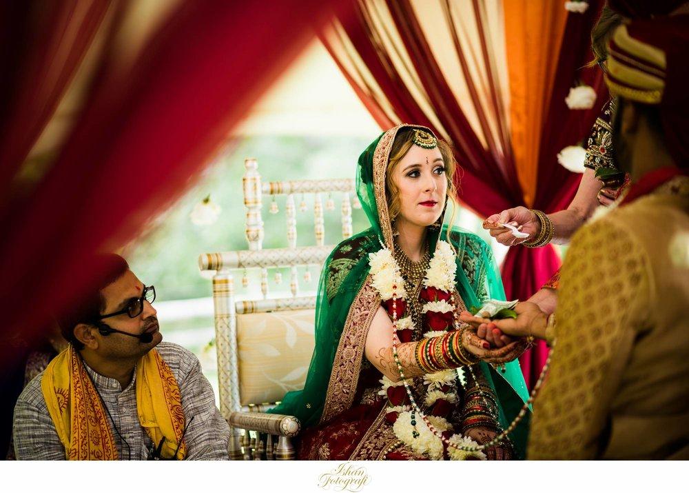 bride-indian-wedding-claxton-farm-NC