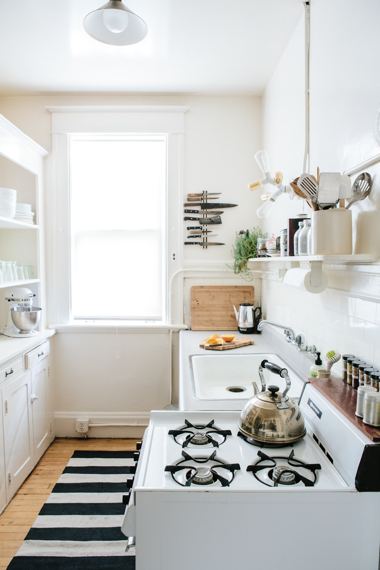 Small Apartment Galley Kitchens