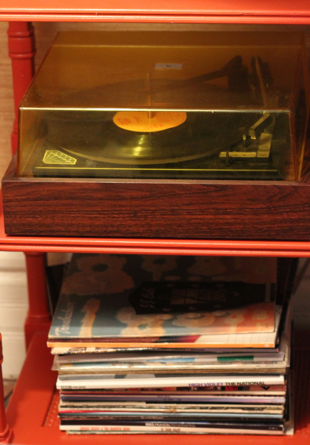 Kendall's grandparents record player