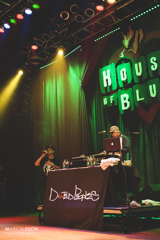 DiLAted Peoples | House of Blues San Diego June 2013 | Photo:  Msison