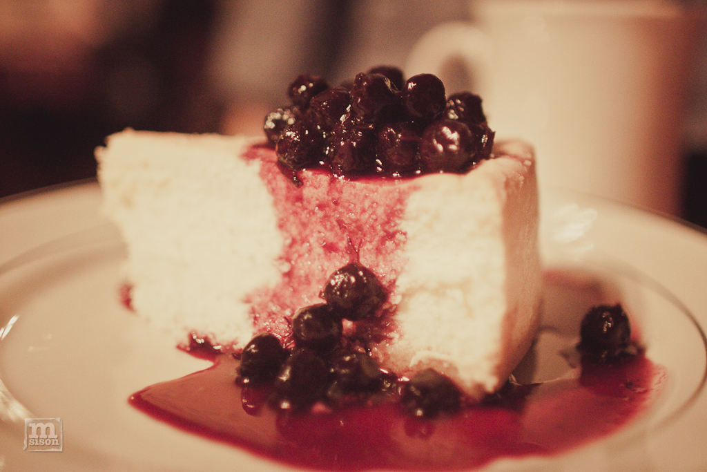 Cheesecake at PJ Clarkes in Manhattan