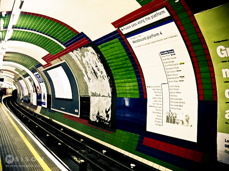 London Tube | February 2009