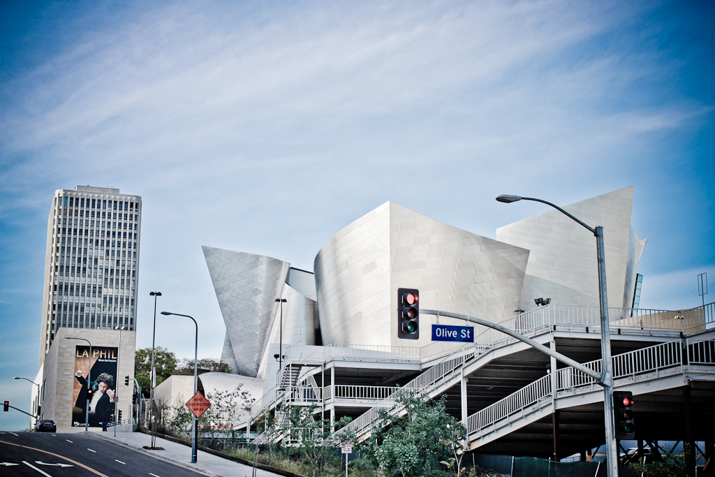 Walt Disney Concert Hall Downtown Los Angeles