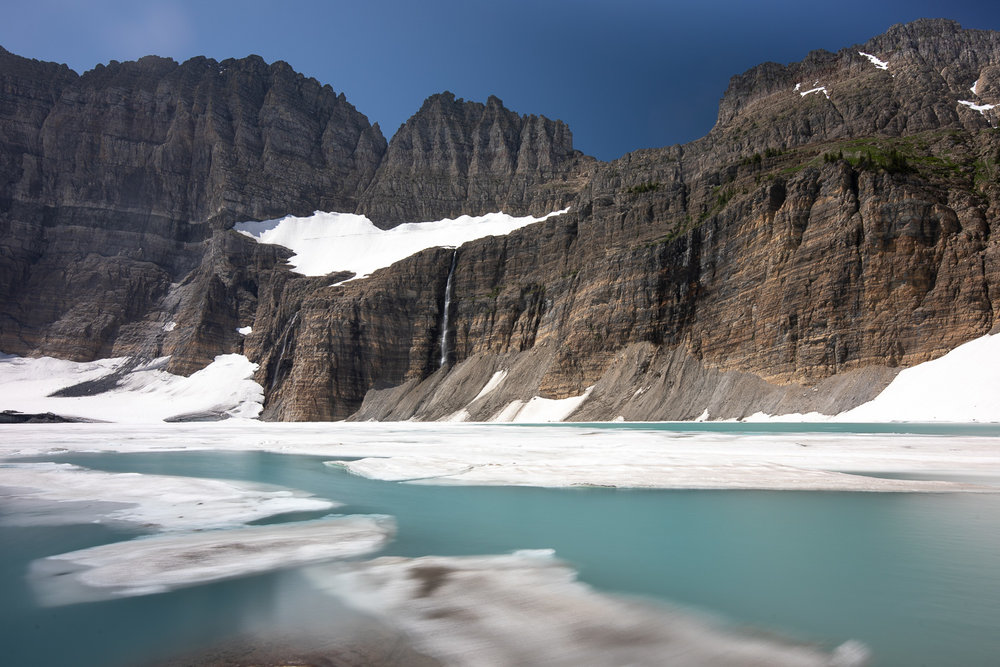 Final destination: Grinnell Glacier and Upper Grinnell Lake.