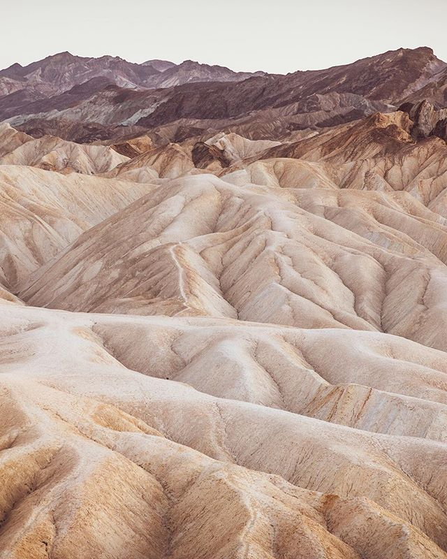 Patterns, layers, folds in Death Valley National Park. An amazing place to explore in the West.