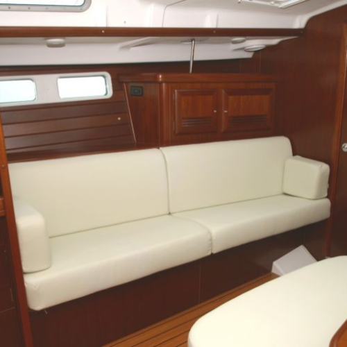 Port settee when I purchased the boat.