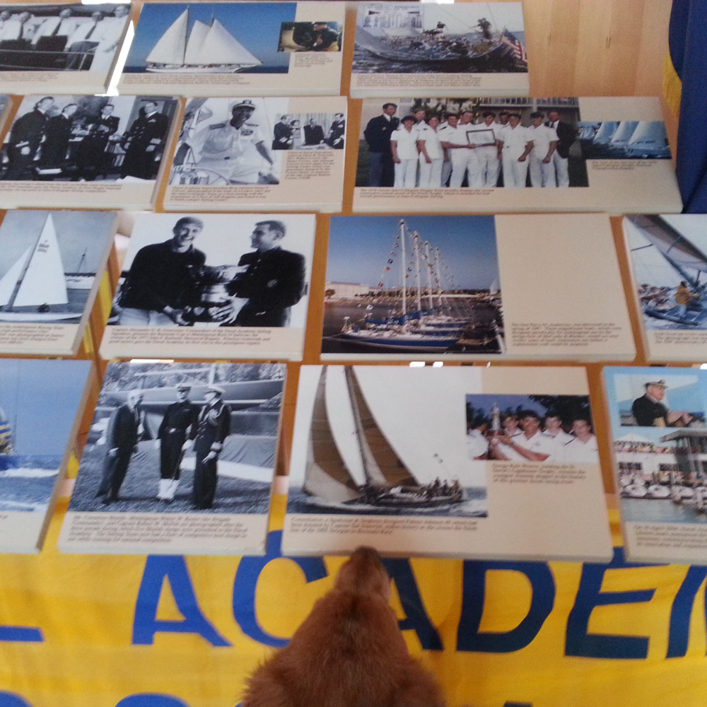 Haydn checks out a little sailing history.