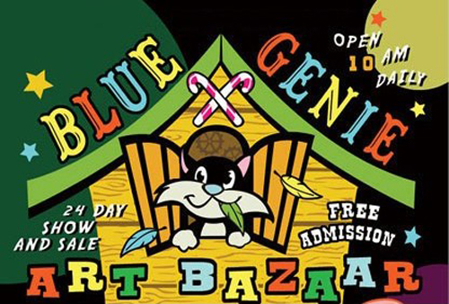 Copy of Blue Genie Art Bazaar
