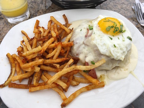 south congress cafe - (pictured: croque madame)