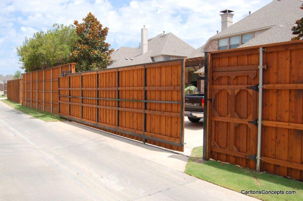 Fencing And Gates Carlton S Concepts Landscape Design