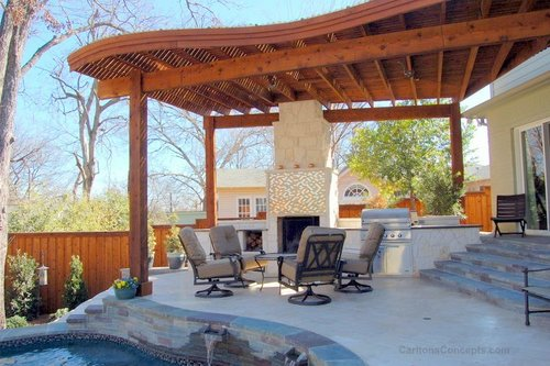 Carltons Concepts Landscape Design Contractor – Arbor Patio Cover Plans