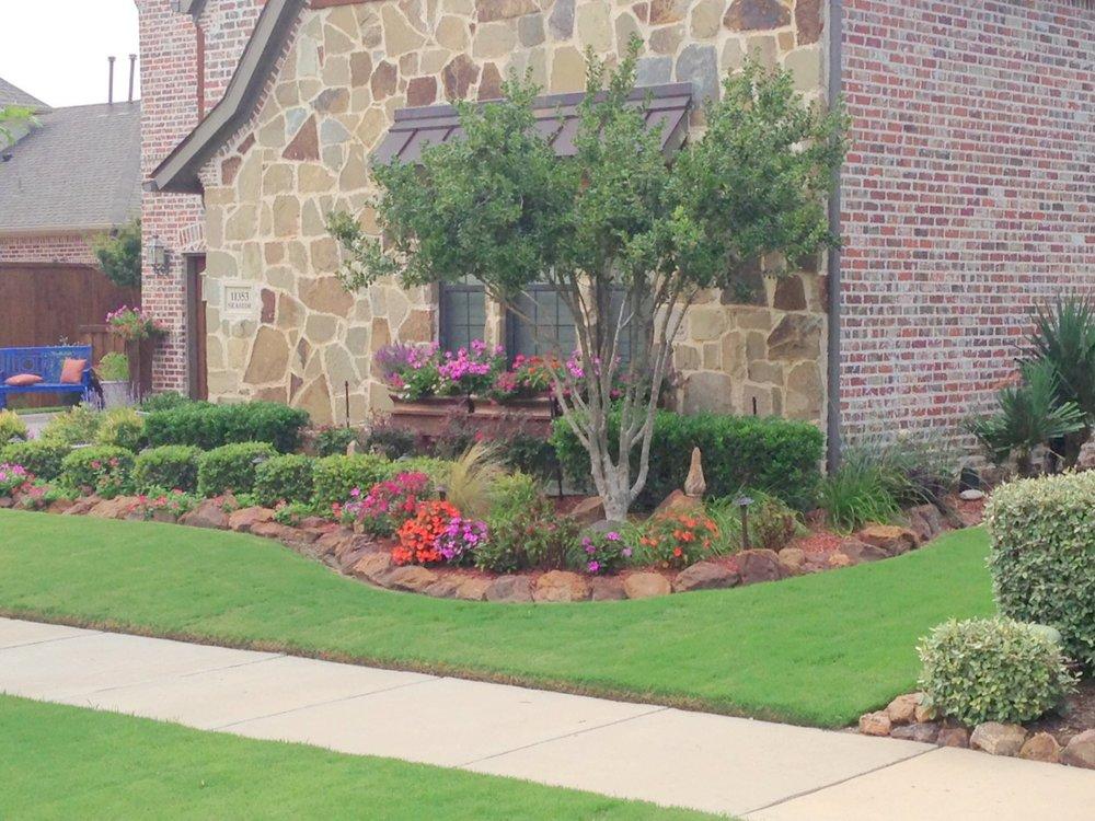 Landscape design and construction mckinney frisco for Garden design texas