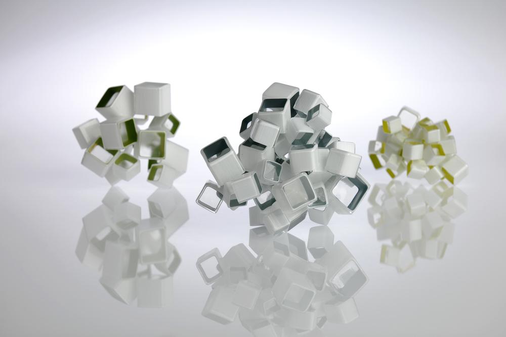 Crystalline Compositions I, II, III, 2012. Image: Michael Haines