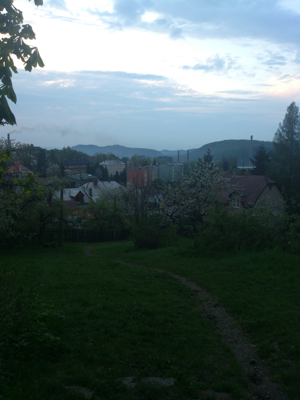 The town of Kamenicky Senov