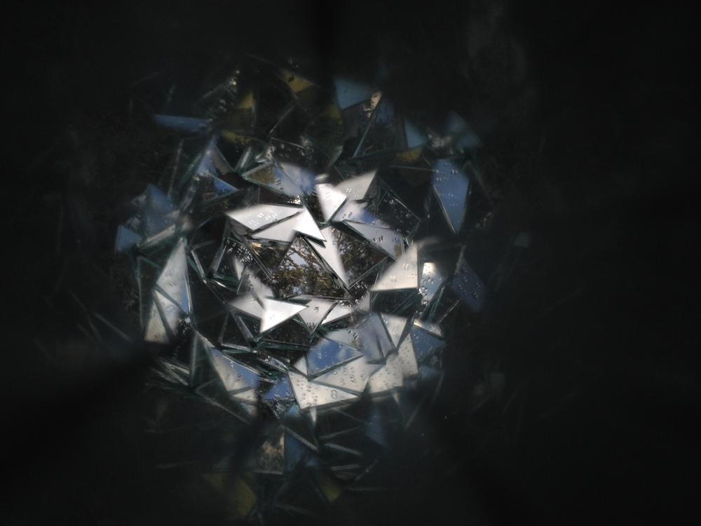 Collaboration experimentswith Heidi Kenyon's handmade kaleidoscope