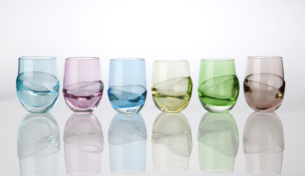 Gather Tumblers (RRP: $99.00 each). Image: Michael Haines