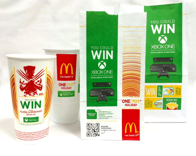One hot holiday mcdonalds prizes won