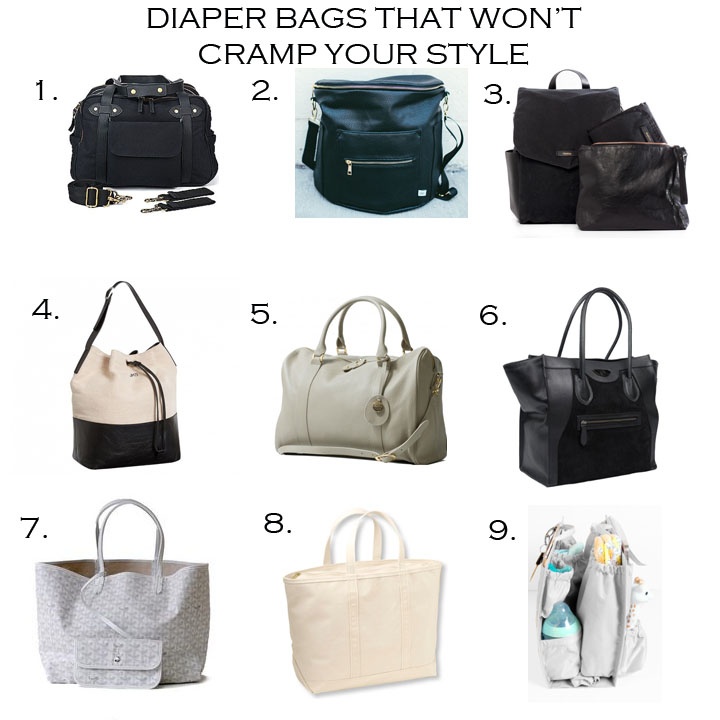1. SO YOUNG  |  2. FAWN DESIGN  |  3. LEADER BAG CO.  |  4. JENNI KAYNE FOR PB KIDS  |  5. PACAPOD  |  6. SIX PACK BAGS  |  7. GOYARD  |  8. L.L. BEAN  |  9. LIFE IN PLAY