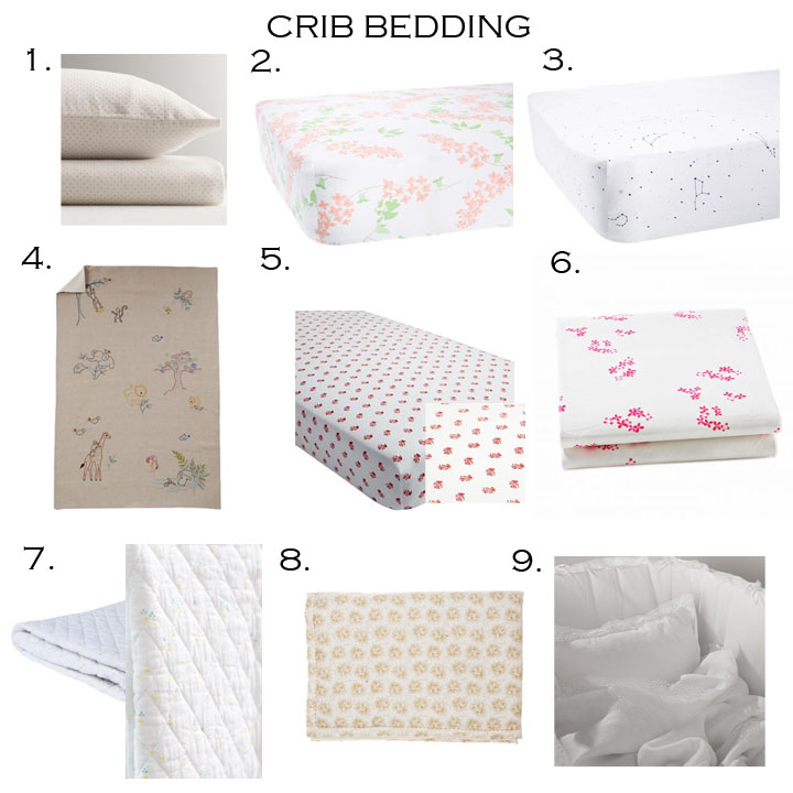 1. RH BABY AND CHILD  |  2. BISCUIT HOME  |  3. BISCUIT HOME  |  4. COYUCHI  |  5. LAND OF NOD  |  6. LITTLE AUGGIE  |  7. LITTLE AUGGIE  |  8. CAMOMILE LONDON  |  9. MATTEO