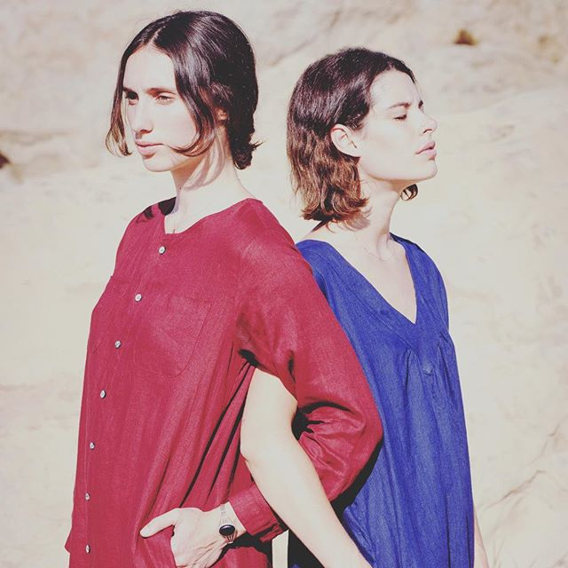 Hot summer LA days call for #sugarcandymountain linen dresses.