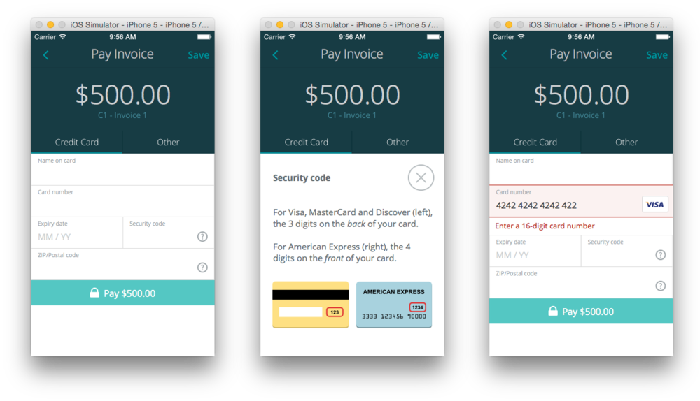 The anatomy of a credit card payment form Gabriel Tomescu – Credit Card Form