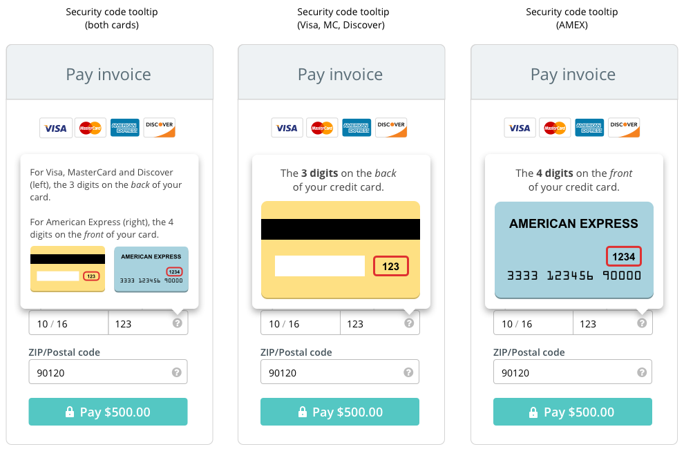 The Anatomy Of A Credit Card Payment Form Gabriel Tomescu