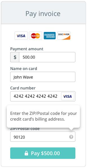 visa card number format