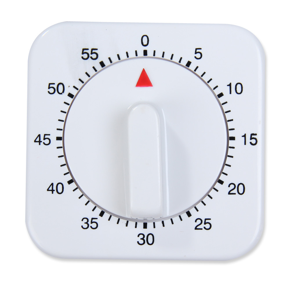A classic timer. You use the knob (the trigger) to set a time, and as the knob rotates, it also acts as an indicator of time remaining (the data).
