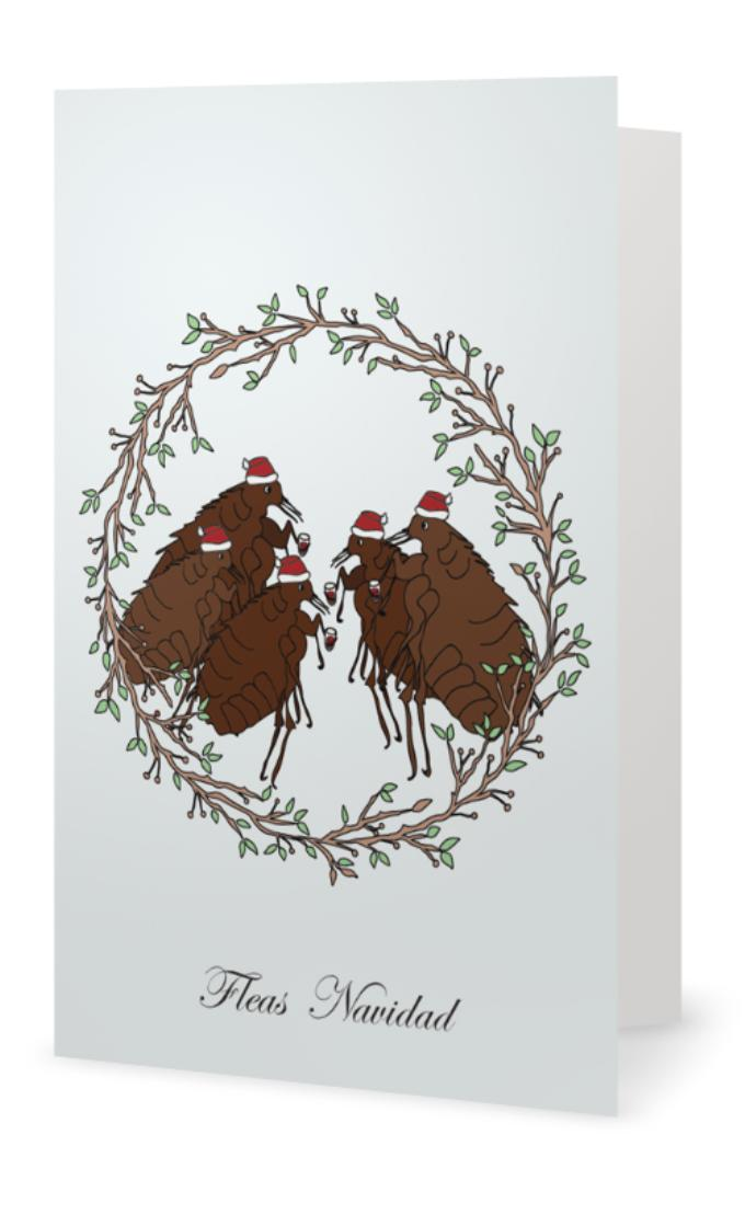 Fleas Navidad Card
