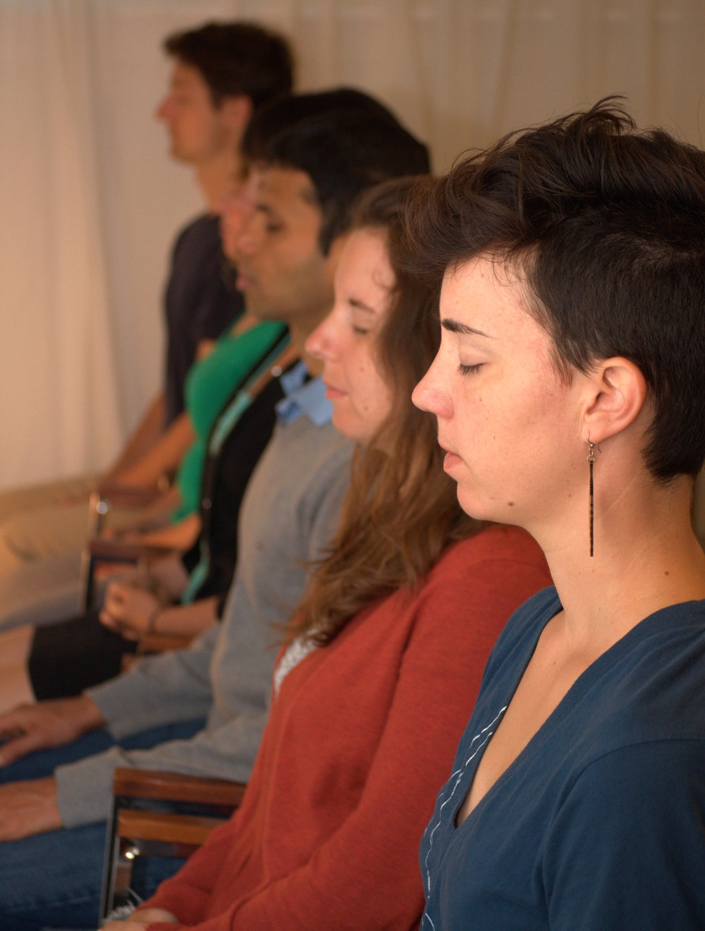 YA-Meditating