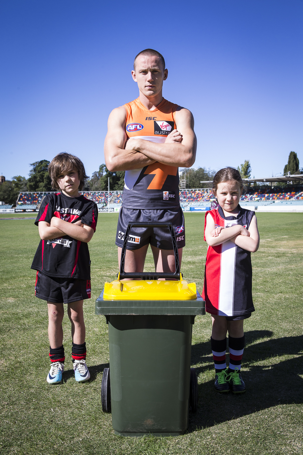 Tom Scully takes recycling seriously
