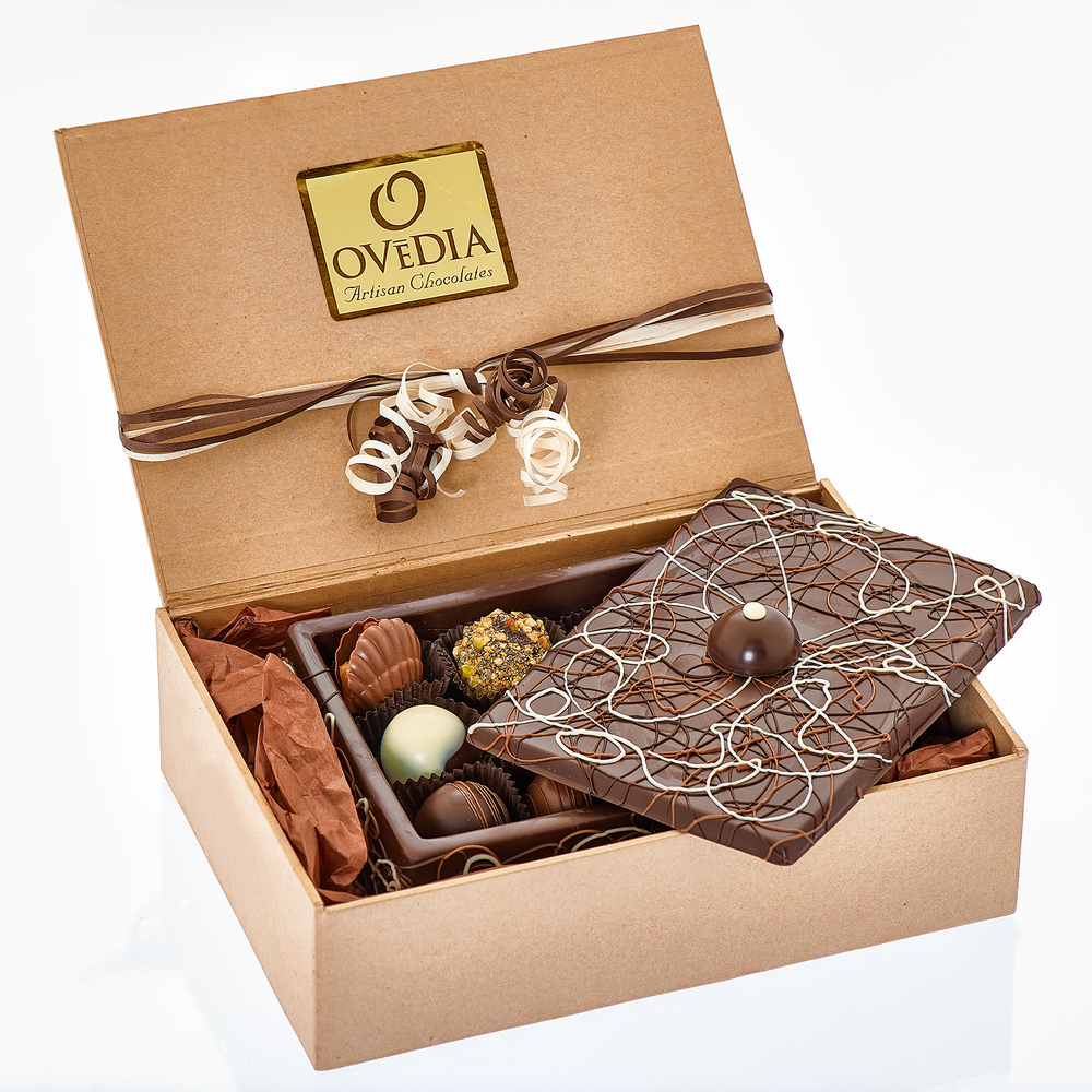 Dark Chocolate Box Packaged