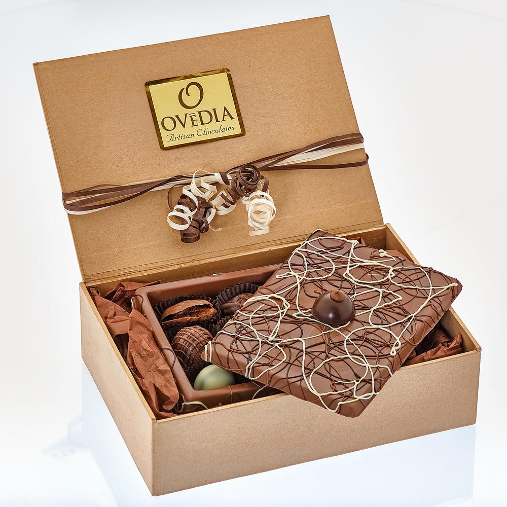 Milk Chocolate Box Packaged