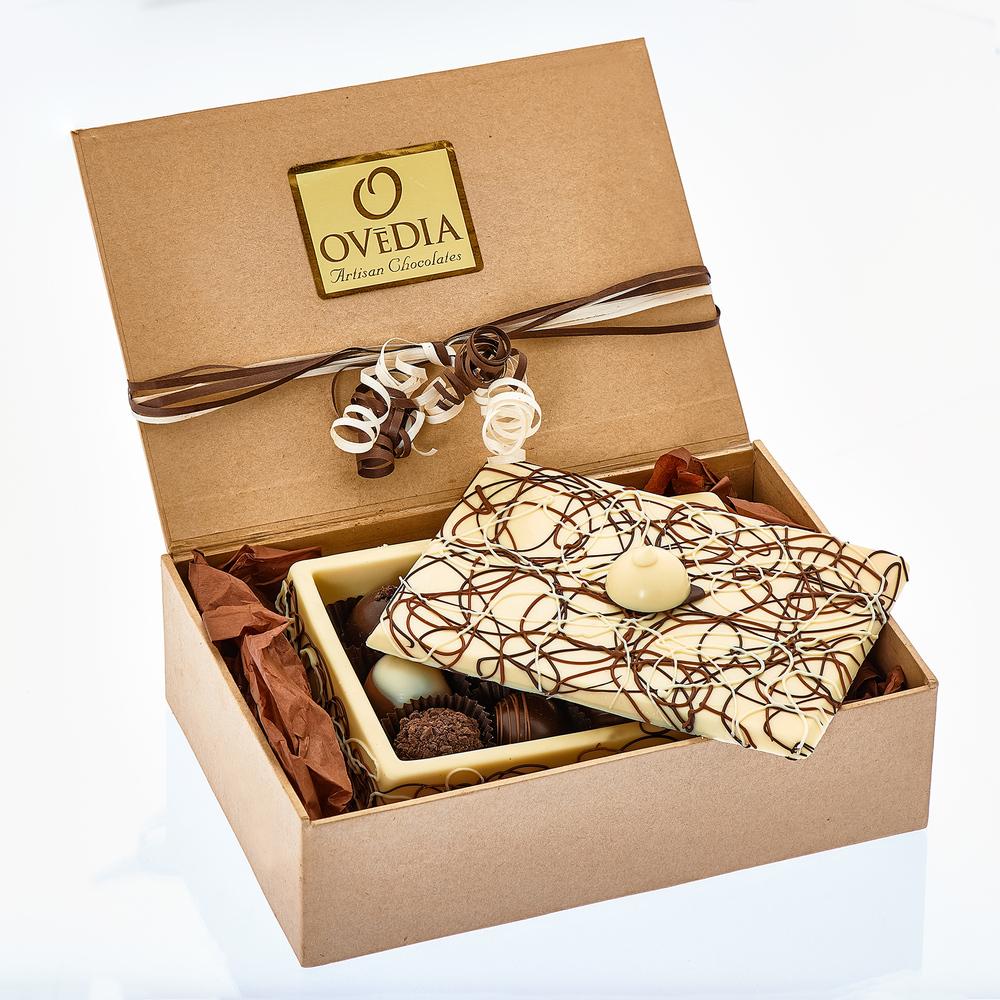 White Chocolate Box Packaged