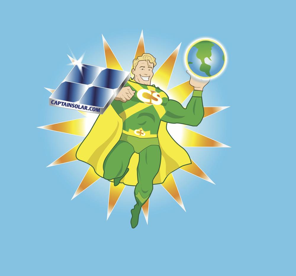 Captain Solar logo