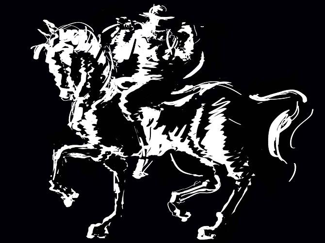 Black Rider Productions logo