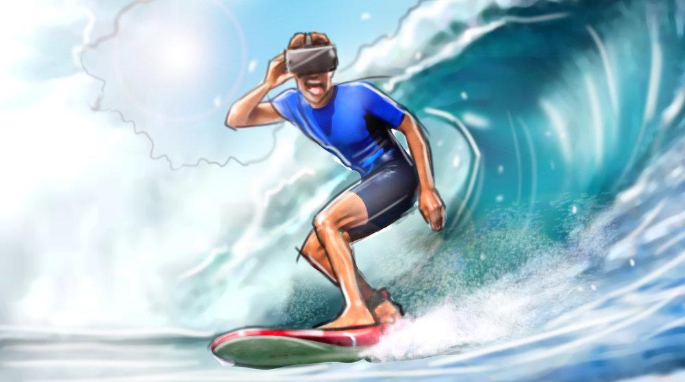 VR Surfer