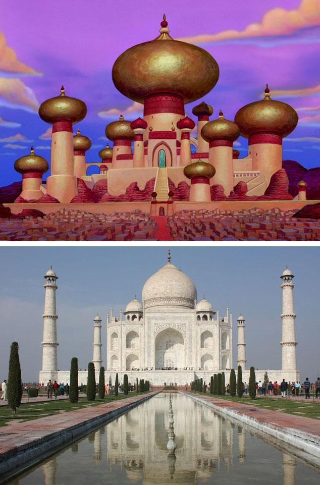 Taj Mahal Comparison