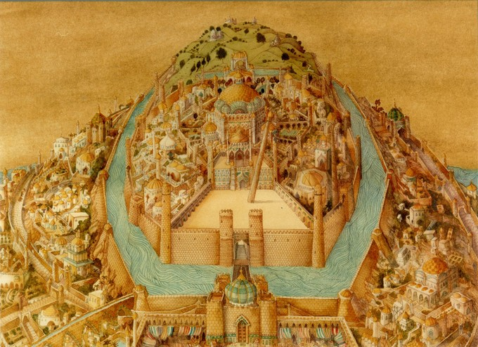 Baghdad mid-late Abbasid Period