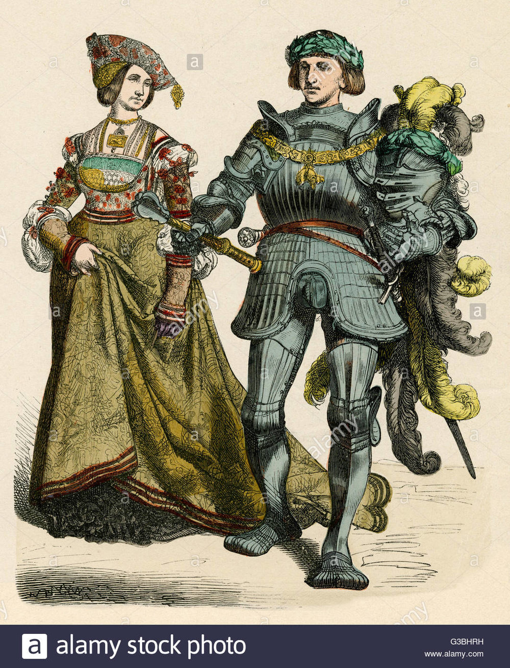 german-prince-and-princess-of-the-early-16th-century-he-wears-full-G3BHRH.jpg