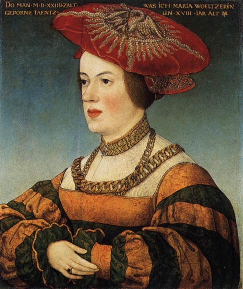 a Hans Maler zu Schwaz (1490–1530) Maria Welzer von Eberstein (2).jpg