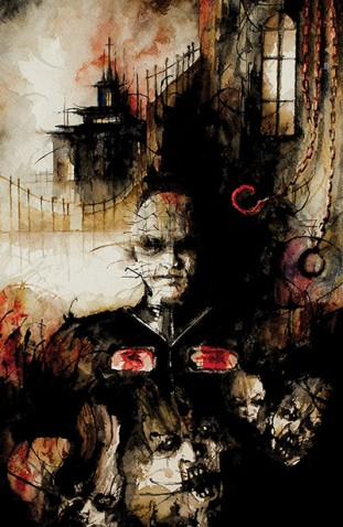 My story STUDY appears in Hellraiser Bestiary #4 With Gorgeous Art work from  Daniele Serra