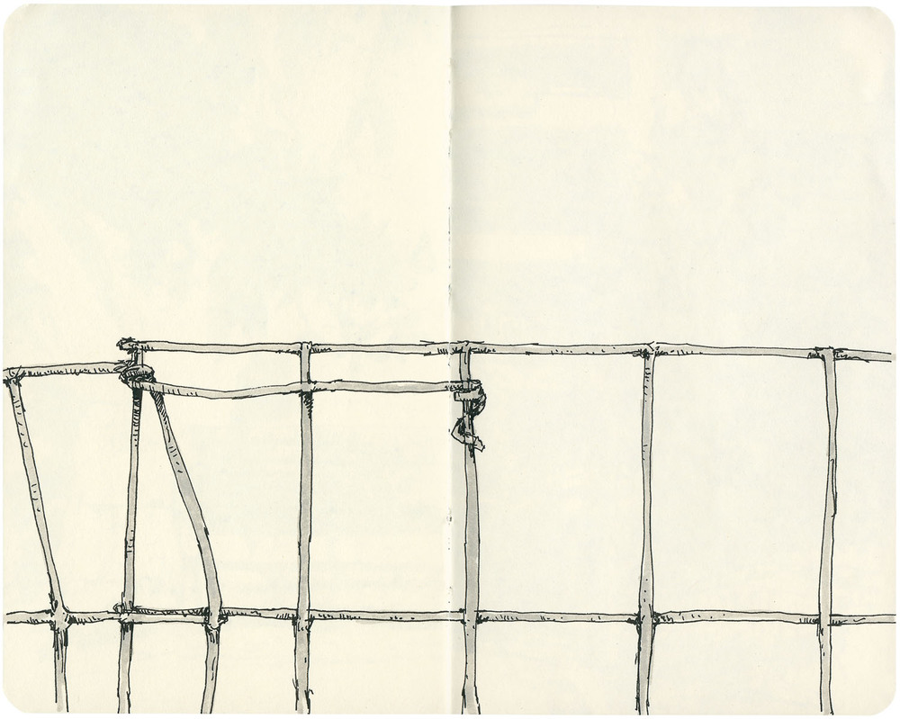 Sketchbook: Fence