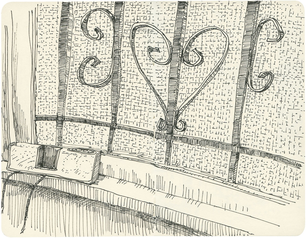 Sketchbook: Windowsill
