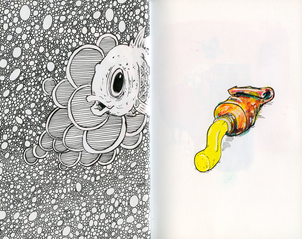 Cannon Pearson–Sketchbook: Tube