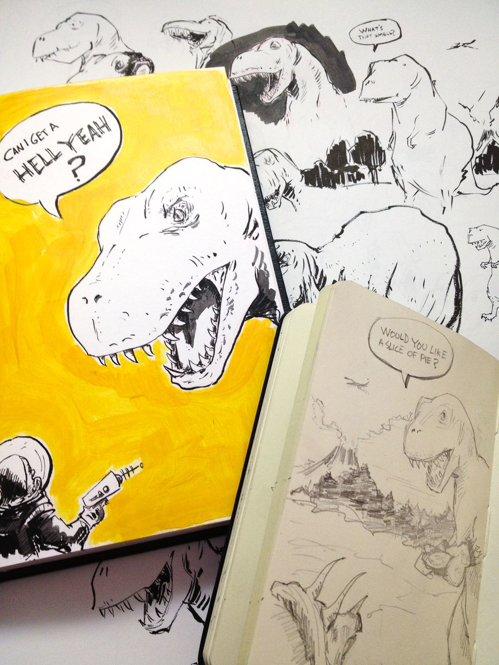 Cannon Pearson–Sketchbook: Rex
