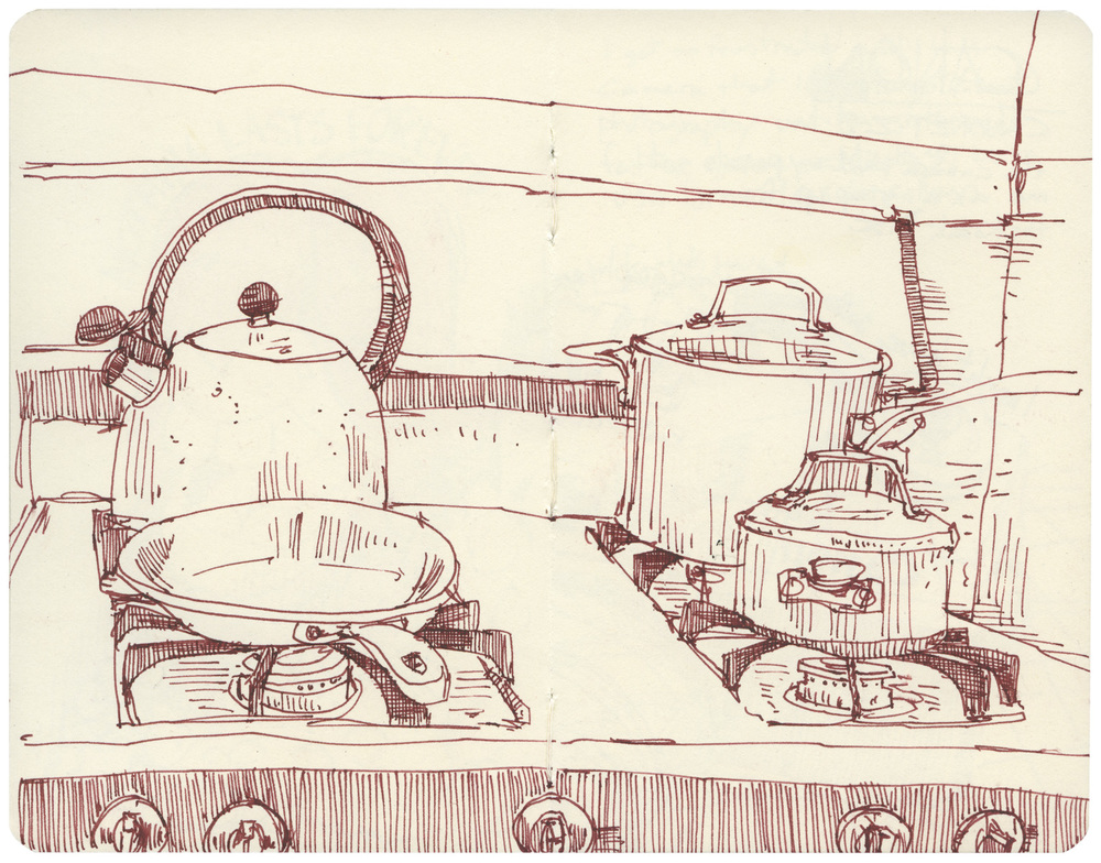 Sketchbook: Stovetop